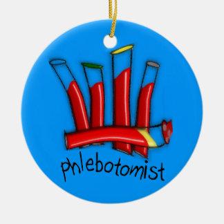Phlebotomist Artsy  Christmas Ornament