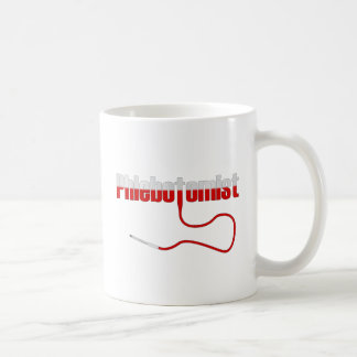 Phlebotomist with Needle Logo Coffee Mug