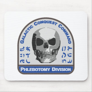 Phlebotomy Division - Galactic Conquest Command Mouse Pad