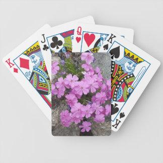 Phlox Dark Pink Poker Deck