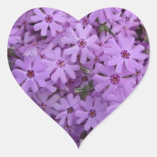 Phlox Purple Heart Sticker
