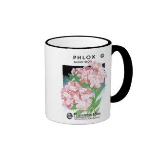 Phlox, Salmon Glory, F. Lagomarsino & Sons Ringer Mug