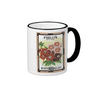 Phlox Seed Packets - Burt's Seeds Mug