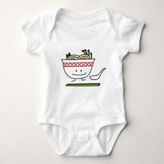 Pho Noodle Bowl Vietnam soup spoon chopsticks Baby Bodysuit