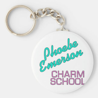 Phoebe Emerson Charm School Products Key Ring
