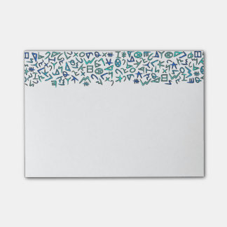 Phoenician Post-it Notes