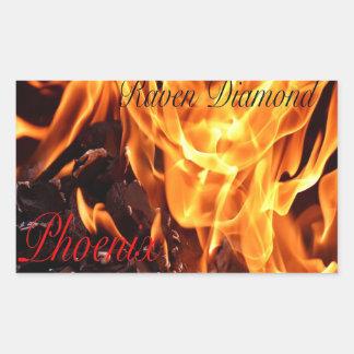 Phoenix Album Cover Stickers