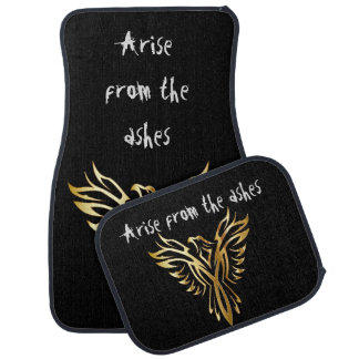 Phoenix arise from the ashes car mat