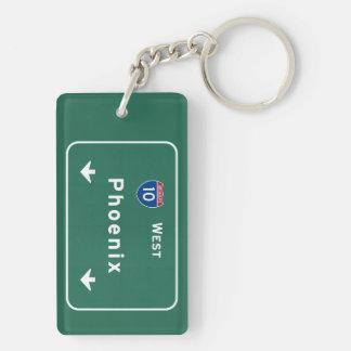 Phoenix Arizona az Interstate Highway Freeway : Key Ring