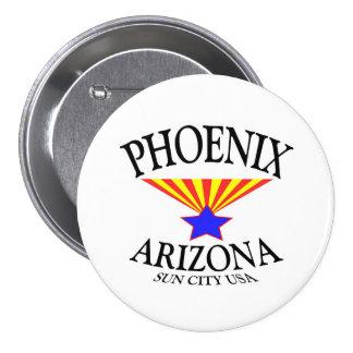 Phoenix Arizona 7.5 Cm Round Badge