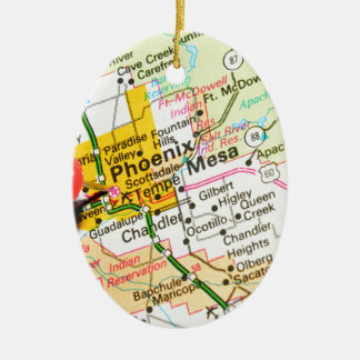 Phoenix, Arizona Ceramic Ornament