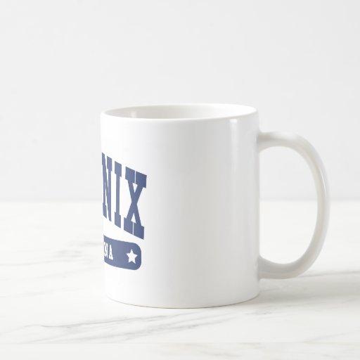 Phoenix Arizona College Style tee shirts Coffee Mug