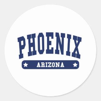 Phoenix Arizona College Style tee shirts Stickers