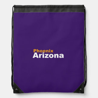 Phoenix, Arizona Drawstring Backpack
