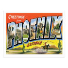 Phoenix Arizona Greetings from US City Postcard