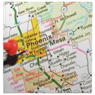 Phoenix, Arizona Napkin