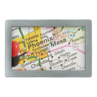 Phoenix, Arizona Rectangular Belt Buckle