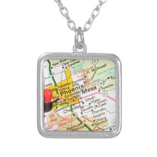 Phoenix, Arizona Silver Plated Necklace