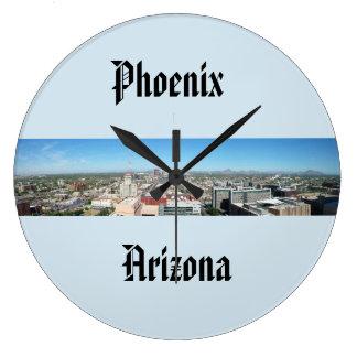 Phoenix Arizona Skyline Clock