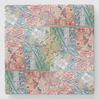 Phoenix Art Patchwork Mosaic Coaster