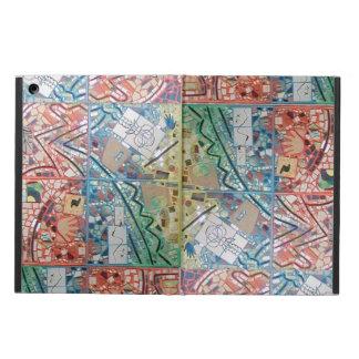 Phoenix Art Patchwork Mosaic Computer Kickstand iPad Air Case