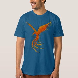 Phoenix Bird Art Organic Men's T Shirt
