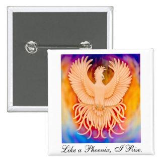 Phoenix Bird Pin