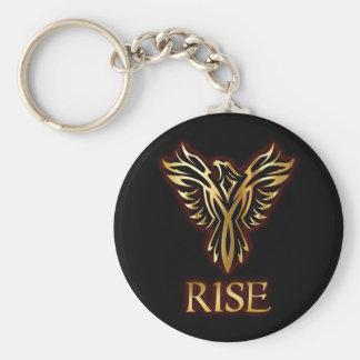 Phoenix Bird Rise Basic Keychain