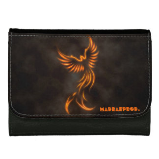 Phoenix Black Leather Wallet
