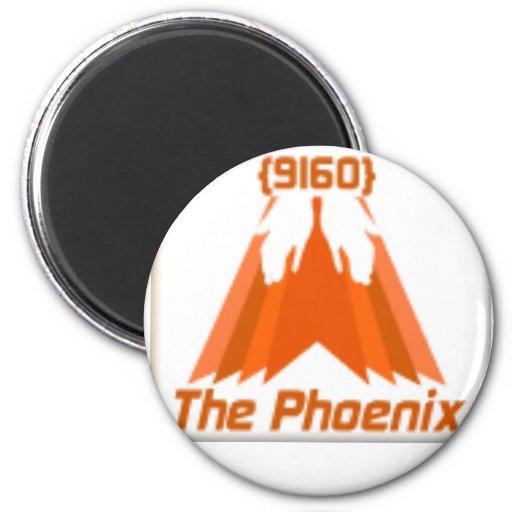 Phoenix Button Refrigerator Magnets