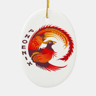 PHOENIX CERAMIC ORNAMENT