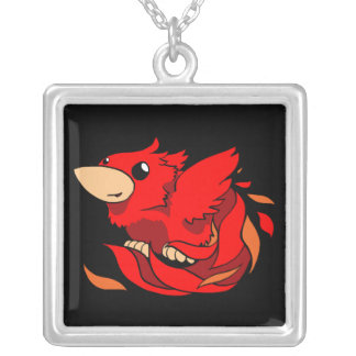 Phoenix Chibi Necklace