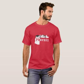 Phoenix city skyline, Arizona state T-Shirt