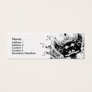 Phoenix Crest Mini Business Card