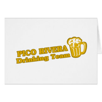 Phoenix Drinking Team tee shirts Greeting Card