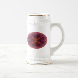 Phoenix Egg Abstract Art Beer Steins