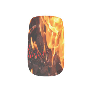 Phoenix Fake Nails Minx Nail Art