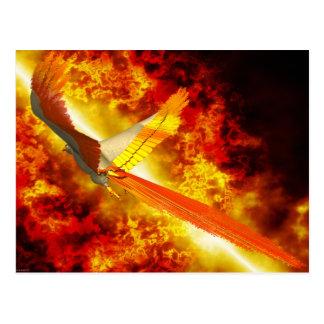 Phoenix Fantasy Gothic Postcard