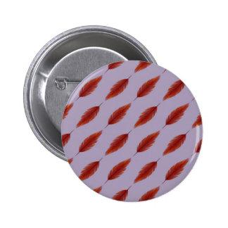 Phoenix Feather Pattern Pin