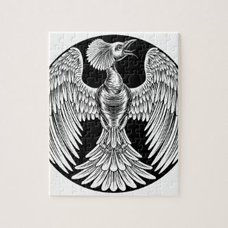 Phoenix Fire Bird Design Jigsaw Puzzle