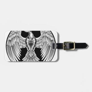 Phoenix Fire Bird Design Luggage Tag