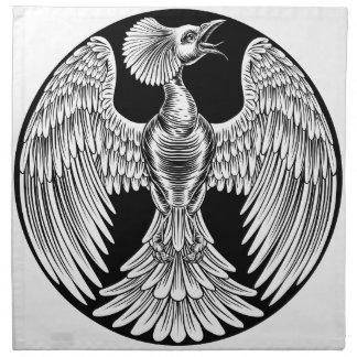Phoenix Fire Bird Design Napkin