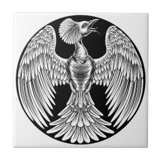 Phoenix Fire Bird Design Tile