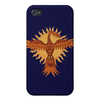 Phoenix fire bird graphic art cool i phone case iPhone 4/4S covers
