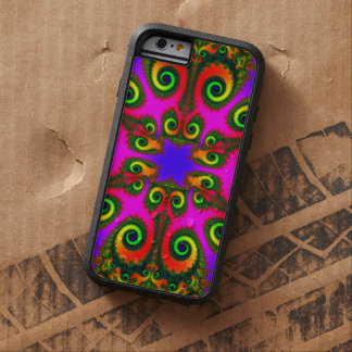 Phoenix Flower Fractal Tough Xtreme iPhone 6 Case