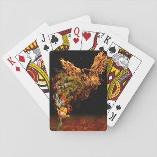 Phoenix Flower Playing Cards