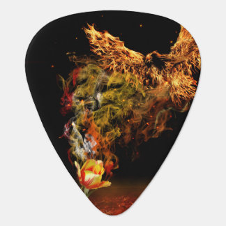 Phoenix Flower Plectrum