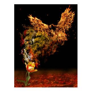 Phoenix Flower Postcard