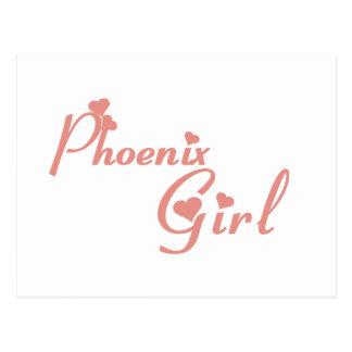 Phoenix Girl tee shirts Postcard