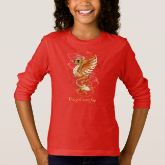 Phoenix Girl's Long Sleeve Shirt